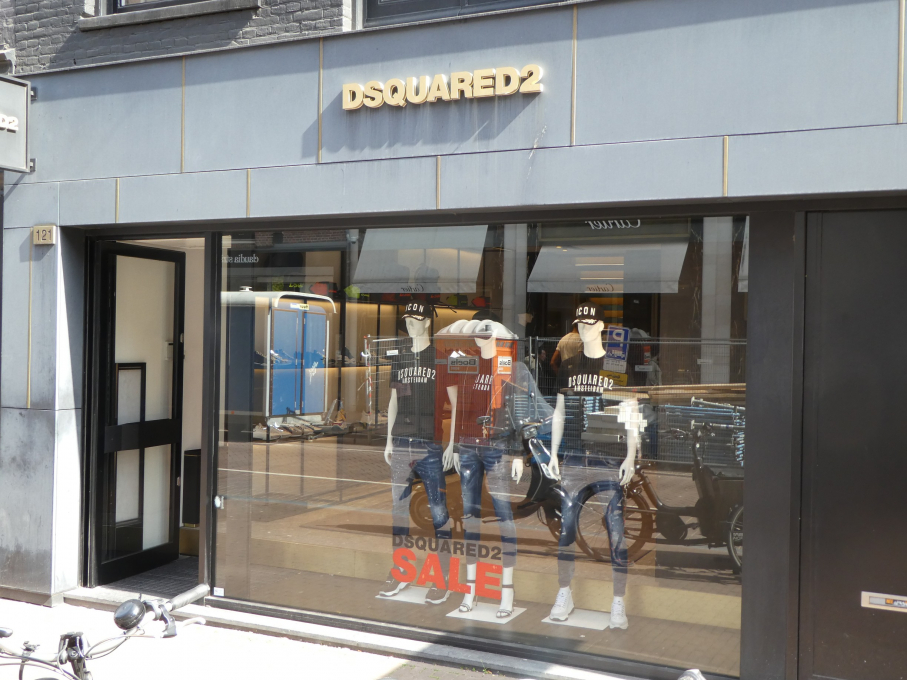 DSQUARED2 PC Hooftstraat Amsterdam